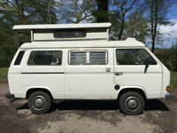VW T25 Camper, water cooled, 2+2 berth elevating roof, great winter project, PRICED TO SEL