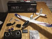 Hubsan SpyHawk H301F Electric Glider with live video camera and record function and auto pilot.