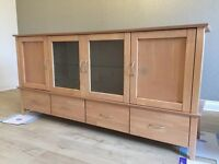 Long Storage Sideboard Cabinet