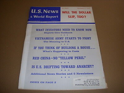 U S  News   World Report  December 4  1967  Is U S  Drifting Toward Anarchy