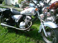 MOTOR CYCLE SUZUKI 125CC MARAUDER