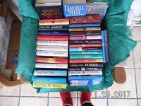 Danielle Steel books - 36 hardbacks & 32 paperback - read just once - downsizing - VGC.