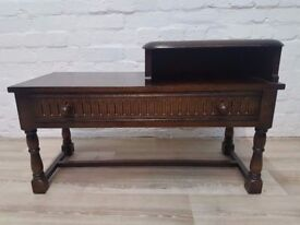 Priory Corner Telephone Table (DELIVERY AVAILABLE FOR THIS ITEM OF FURNITURE)