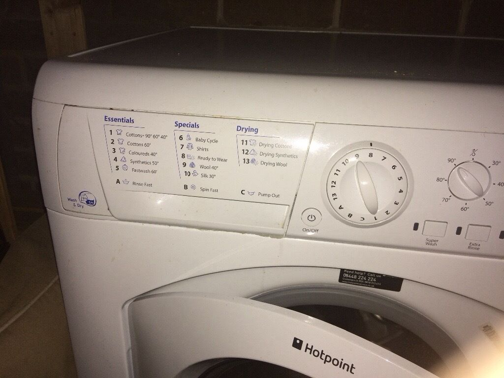 Hotpoint Washer Dryer Combo Hot Point Washer Dryer Combo In Christchurch Dorset Gumtree