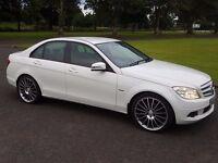 Mercedes C200 Blue Efficiency SE, 2.2 Diesel, White, Manual