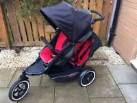 Phil & Teds Explorer Double Buggy For Sale