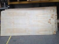 PLYWOOD 9MM 8/4 £10 A SHEET 100 SHEETS AVAILABLE