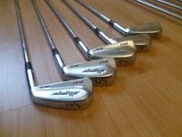 5 x slazenger b51 mk2 iron golf clubs 3 4 5 6 7