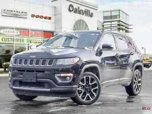 2017 Jeep Compass LIMITED   PANO ROOF   REMOTE START   NAVI   4X