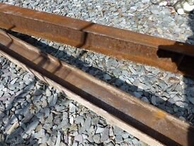 Steel beam x 2.