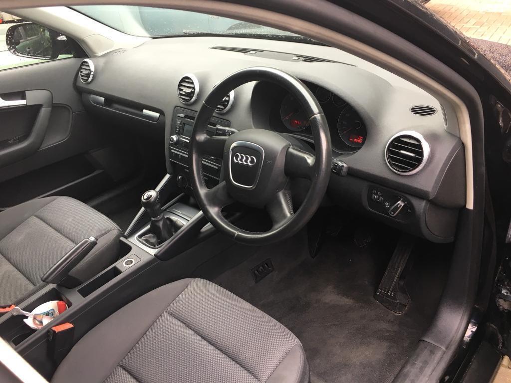 Audi A3 Sportback 5 door, Manual, Black, 1.6 TDI, 2011 £20 Road Tax