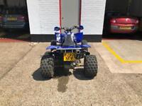 Road legal Yamaha yfz 450 quad