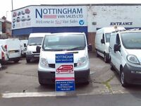 RENAULT TRAFFIC 08 PLATE NO-VAT FROM BULWELL
