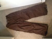 Animal Snowboarding/Skiing size M trousers