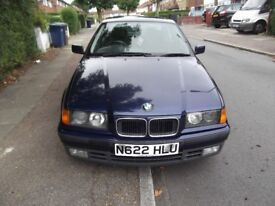 1996 BMW E36 ISE AUTO ONLY 54000 MILES FRO NEW.