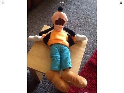 """Disneyland Plush Soft Toys Disneyland - Goofy  - Approx 14"""""""