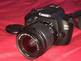 Canon 1200d + 18-55mm canon + 70-300mm Tamron USED