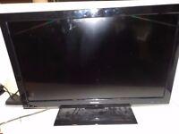 "Toshiba 32"" LCD Color TV."