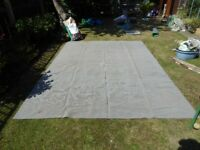 Breathable Ground sheet/ awning carpet . 8ft x 11ft