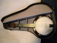 2 banjo and 3 ukulele for sale look in other guitars and accessories