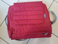 Britax Affinity Baby Changing Bag Red BRAND NEW £15