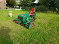 Ride on diesel mower