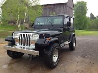 1994 Jeep YJ certified and e-tested