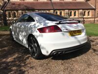 Amazing example of a well looked after audi tts which comes with rare 19inch rotar wheels
