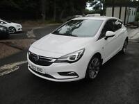 Vauxhall Astra SRI NAV CDTI BITURBO S/S (white) 2016-10-21