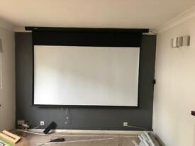 Duronic brand projector screen (screen only)