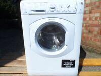 Hotpoint Washer Dryer Aquarius WDL 5290 Freestanding White