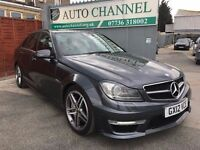 Mercedes-Benz C Class 6.3 C63 AMG MCT 7S 4-MATIC 4dr£24,000 +VAT FINANCE AVAILABLE. NEW MOT