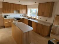 Howdens Kitchen - oak fully wrapped