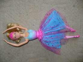 Barbie Twirling Ballerina Doll (Dance n Twirl/ Dance & Spin), new without box, missing wand. Xmas..