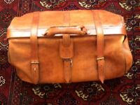Retro Ben Lhachmi leather Hold-all bag