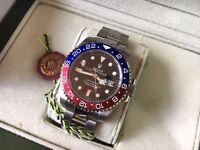 New Swiss Rolex GMT-Pepsi Automatic Watch