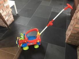 Disney Toddlers Activity Plane - Pushalong