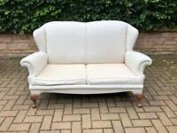Two seater parlour sofa