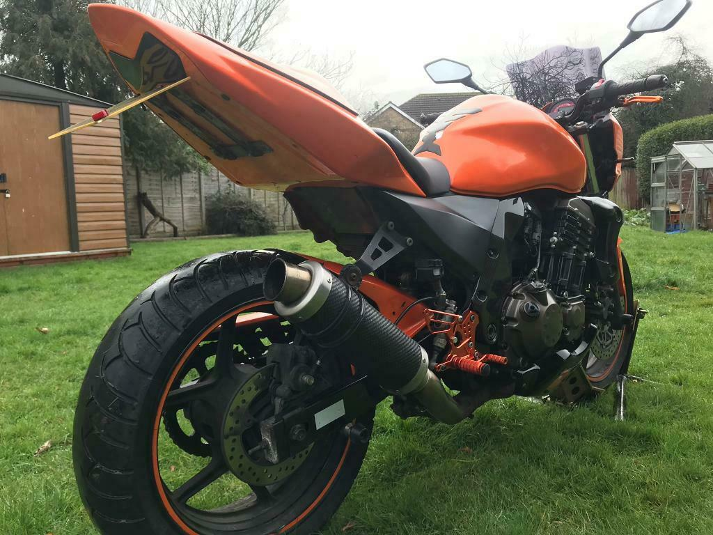 Kawasaki Z750 2006 Stunning Bike Mot Hpi Clear Serviced Extras