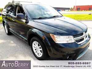 2013 Dodge Journey SXT **ACCIDENT FREE & CERTIFIED** $10,999