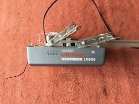 Electric garage door opener. Works perfectly but will dispose of if no offers at this price