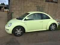 Volkswagen Beetle VW pastel green VERY RARE cool not fiat 500 bargain cheap