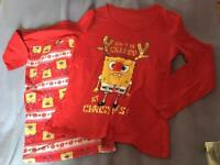 Sponge bob square pants ladies pyjamas - 12-14 size