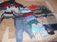 12-18 MONTHS BOYS BUNDLE CLOTHING.