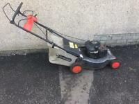 Self drive petrol lawnmower