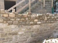 Bricklaying stone masonry