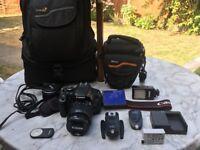 Canon EOS 600D DSLR camera kit
