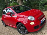 2014 Fiat 500s Red Immaculate Condition