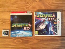Starfox 64 3D for Nintendo 3DS [Can Post]