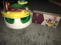 Mamas and papas snug seat and play tray
